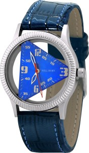 WILL HORN WH-9002 Triangle Blue Stylish Wrist Watch Watch  - For Boys & Girls