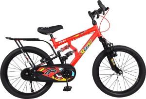 Atlas Little Beast Triple Shox Bike For Kids Of Age 5 8 Yrs Red 20 T