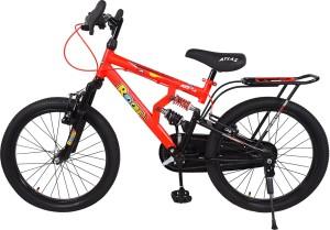 8e241dd3afd Atlas Little beast Triple Shox Bike For Kids Of Age 5-8 Yrs Red 20 T Single  Speed Mountain CycleMulticolor