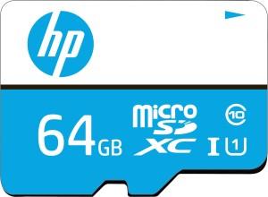 HP U1 64 GB MicroSDXC Class 10 80 Mbps  Memory Card