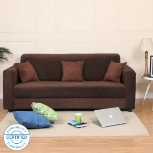 Flipkart Perfect Homes Bergen Fabric 3 Seater  Sofa