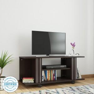 Valtos Engineered Wood TV Entertainment Unit Finish Color   Wenge