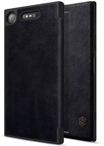 Nillkin Flip Cover for Sony Xperia XZ1 Qin Leather Flip