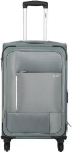 Safari PIXEL 4W 55 GREY Expandable  Cabin Luggage - 22 inch