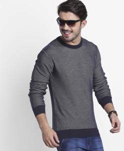 Lee Cooper byFBB Full Sleeve Solid Men Sweatshirt