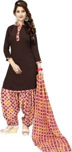 Rajnandini Crepe Printed Salwar Suit Dupatta Material Un stitched