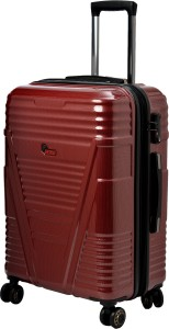 F Gear Valkyrie Polycarbonate 64 (cm) Expandable  Cabin Luggage - 22 inch