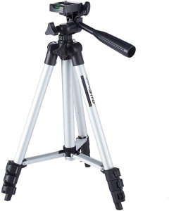 Maxxlite Aluminium Lightweight Tripod For All Cameras with Tripod Monopod Kit Tripod