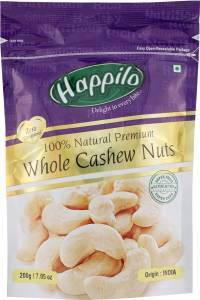 Happilo 100% Natural Premium Whole Nuts Cashews