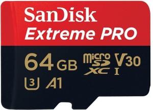 SanDisk Ultra A1 64 MicroSD Card Class 10 100  Memory Card