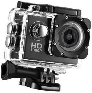 BERRIN Sport Action Camera Shot Full HD 12MP 1080P Black Helmet Sports Action Waterproof Sports and Action Camera