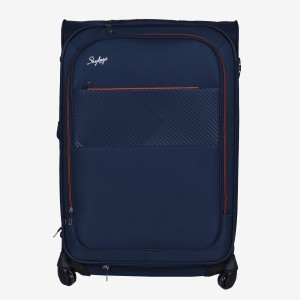 Skybags Jive Soft Trolley 76 cm (Blue) Check-in Luggage - 30 inch