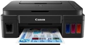 Canon Pixma G3010 Wireless (WiFi) Multi-function Printer