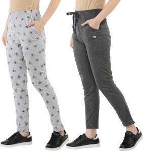 MODEVE Printed Women Grey Track Pants