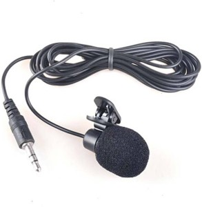 speeqo 3.5mm Clip Microphone For Youtube by Techlicious | Collar Microphone | Lapel Microphone Mobile, PC, Laptop, Android Smartphones, DSLR. Camera Microphone
