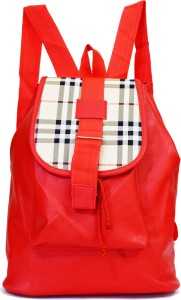 SPLICE PU Leather Backpack School Bag Student Backpack Women Travel bag 3 L Backpack