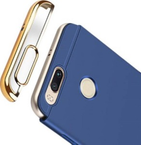 super popular e2914 d7b20 COVERBLACK Back Cover for 3 In 1 Vivo Y71 (1724)Navy Blue, Plastic