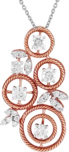 TBZ TheOriginal Precious Pendant 18kt Rose Gold Pendant