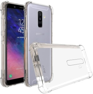 online retailer 3bf96 050b2 Winkel Back Cover for Samsung Galaxy A6 PlusTransparent, Flexible Case