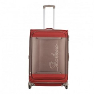 Skybags HEXA4WSTROLLY79BROWN Expandable  Check-in Luggage - 28 inch