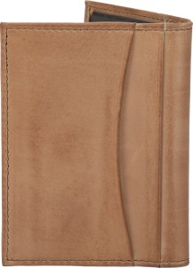Tommy Hilfiger Men Brown Genuine Leather Wallet10 Card Slots