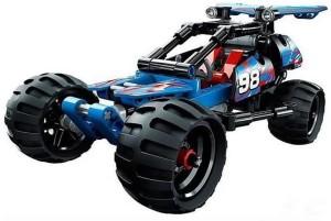 Dhawani Off-Roader Racer 3411 Technic Building Block Construction Pullback Car Bricks Toys (160 Pcs)