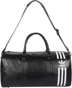 811185780237 ADIDAS Black Duffle bag Travel Duffel Bag Black Best Price in India ...