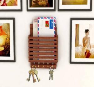 MartCrown all letter rack shelf Wooden Wall Shelf Wooden Wall Shelf