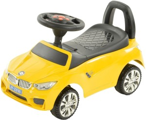Toyhouse Officially Licensed BMW Sports Push Car Car Non Battery Operated  Ride OnYellow