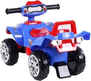 4acfa0ff2a9 Toyhouse Racing Turbo Push ATV Bike Non Battery Operated Ride OnBlue