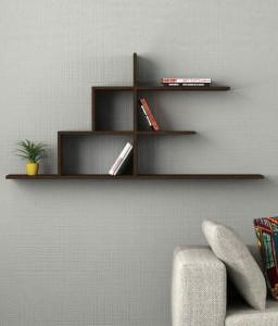 OnlinePurchas NEW ANTIQUE WALL BOOK RACK Wooden Wall Shelf
