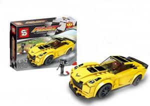 Montez Racing Car Building Blocks Set