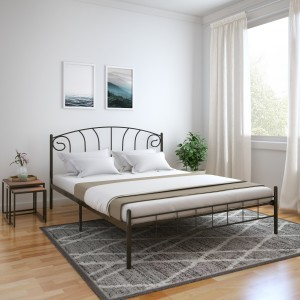 Perfect Homes by Flipkart Jazz Metal King Bed