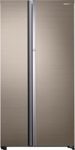 samsung 674 l frost free side by side refrigerator(rose gold stainless, rh62k60b77p/tl)