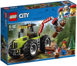 Lego Forest Tractor 60181 - ToySet For 5+ Year Kids