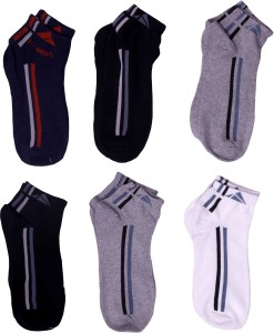 Chartbusters Men & Women Solid Ankle Length