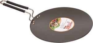 PAN WORLD 3mm Hard Anodised Roti Tawa 23 cm diameter