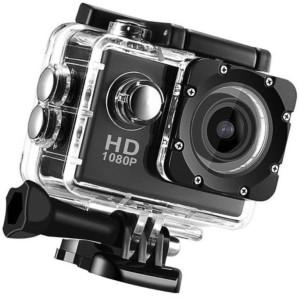 bagatelle no 1 1080 Action Camera Go Pro Style Sports and Action Camera (Black 12 MP) 12 Sports & Action Camera