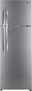 LG 260 L Frost Free Double Door 3 Star (2019) Refrigerator(Dazzel Steel, GL-C292RDSU)