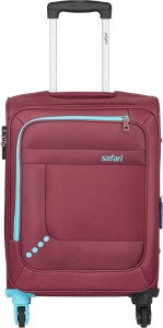 Safari STAR 65 4W RED Expandable  Check-in Luggage - 24 inch