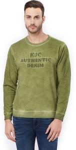 Killer Full Sleeve Applique Men's Sweatshirt