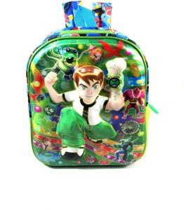 Ehuntz Ben10, 5D embossed (Pre Nursery & Nursery) school Bag (EH1149) Waterproof School Bag