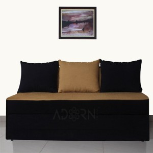 Adorn India Double Solid Wood Sofa Bed