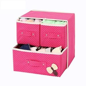 5c434d73e634b ShopAis Foldable 3 Drawer Fabric Storage Box Organizer002 Closet Divider