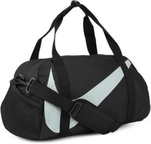 0eddfa5dc369 Nike Y NK GYM CLUB Travel Duffel Bag Black Grey Best Price in India ...