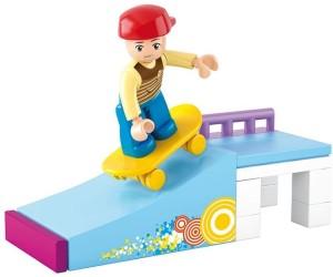 Sluban Skate Boy Building Block Toys   23Pieces   LEGO Compatible   Educational Toys For Kids   M38-B0512