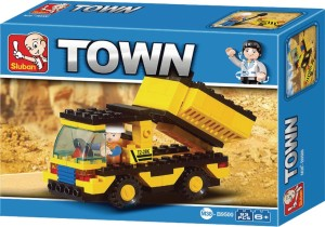 Sluban Heavy Engineering Truck Building Block Toys   LEGO Compatible   Educational Gift Toys For Kids   M38-B09500