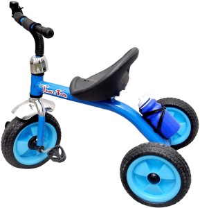 Toyshine Tikes n Tots Tricycle Ride-on Bicycle, Metal Body, Blue, 3-6 Years E-8732 Tricycle