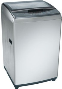 Bosch 7.5 kg Fully Automatic Top Load Washing Machine Silver