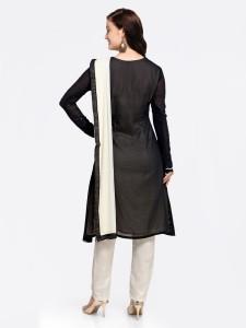 9514af82708 Mrinalika Fashion Georgette Embroidered Semi-stitched Salwar Suit Dupatta  Material